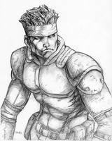 Solid Snake 8-03 by timflanagan