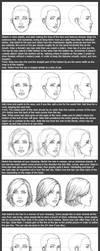 Basic Head Tutorial: Female by timflanagan