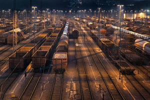 train depot by schnotte