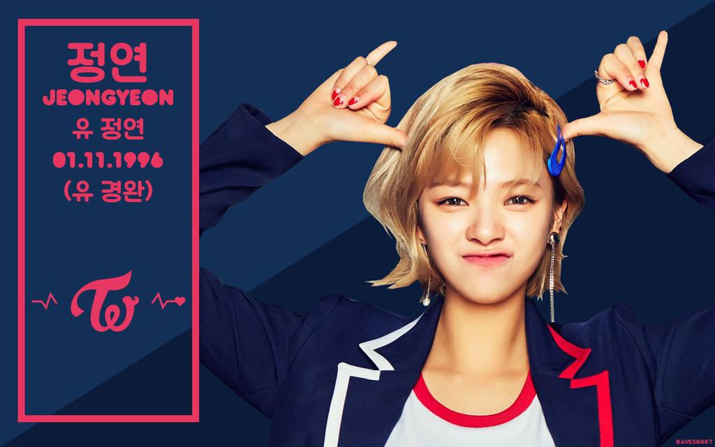 Twice Signal Jeongyeon Wallpaper By Daveso007 On Deviantart