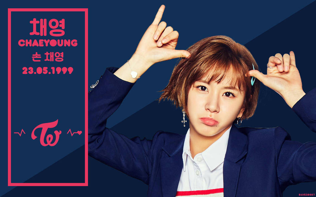 Twice Signal Chaeyoung Wallpaper By Daveso007 On Deviantart
