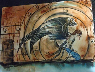 Rusty Angel 2 by ozzedeth