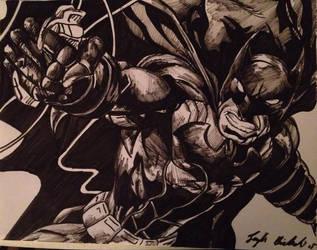 Batman by ozzedeth