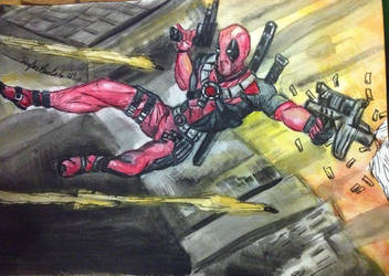 Deadpool by ozzedeth
