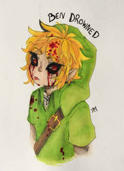 Ben Drowned by Naroreew