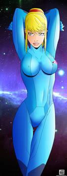 Zero Suit Samus by pinakaguwaping
