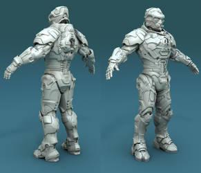Sci-fi Armor by xenoo