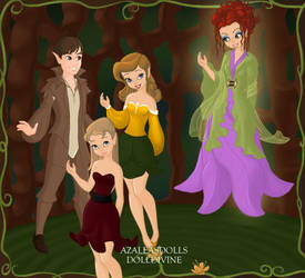 Bewitched Cast. by Katharine-Elizabeth