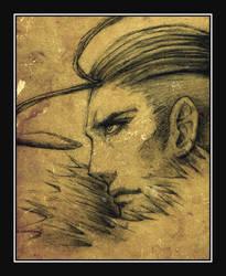 :: Ehud - Hero Portrait :: by ninebreaker
