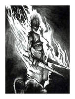 The Fire of the Wrath of God by ninebreaker