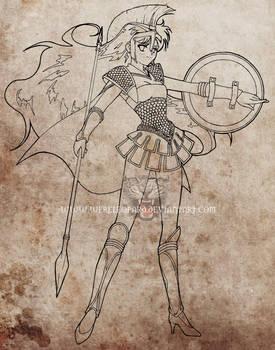Ares sketch by JudySparrow