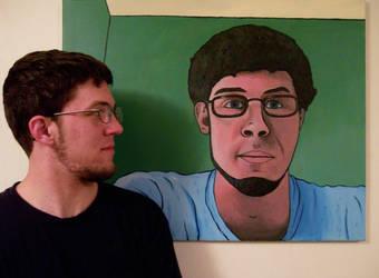 Self-Portrait by BenjaminSapiens