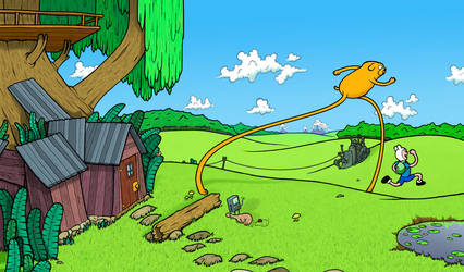 Adventure Time by BenjaminSapiens