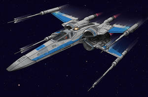 New X-Wing by BenjaminSapiens