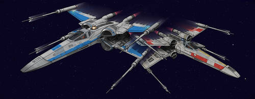 X-Wing: Old and New by BenjaminSapiens