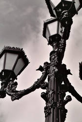 a light pole. by ladyincondite