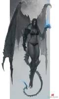 Goblin Dragon Commission by Juniu21
