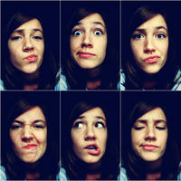 pull faces by AnnMe