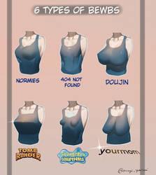 6 Types Of BoObz by YukisakiMAYUI