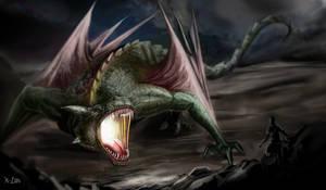 dragon fire by K-Lao