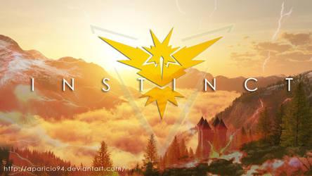 Team Yellow (Instinct) - Pokemon Go by Aparicio94