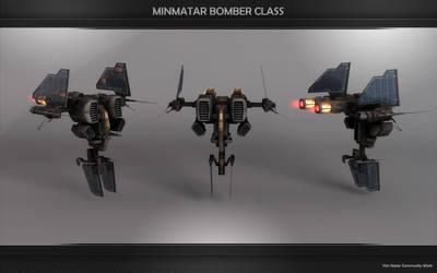 NEW Minmatar Bomber Beta by VanKaiser