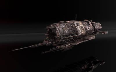 Minmatar Battelship Tier1 by VanKaiser