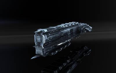 Caldari Tier3 Battelship by VanKaiser