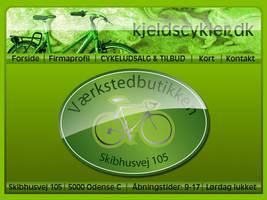 Bike website design by lille-cp