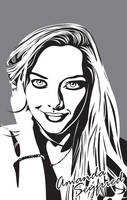 Amanda Seyfried Vectorised by lille-cp