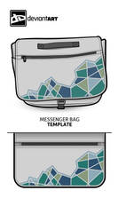 Messenger Bag, Cubism by lille-cp