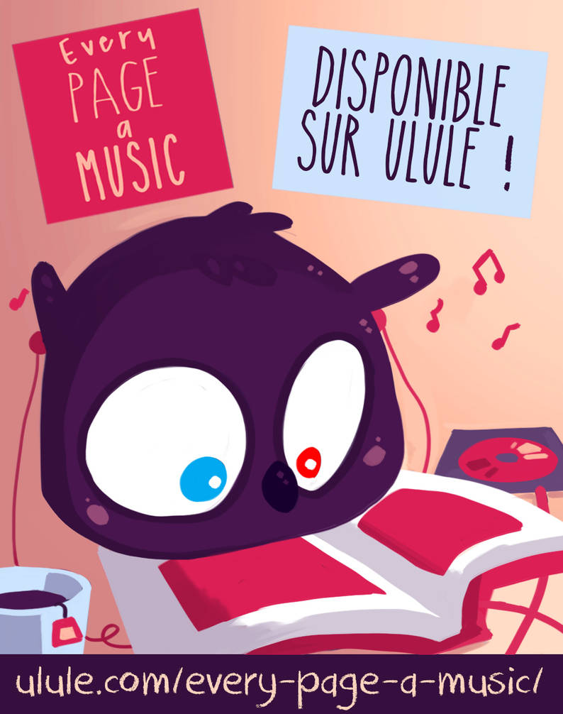 [ulule] Every Page a Music by Ma-n