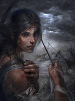 Lara Croft - TOMB RAIDER REBORN 2013 by RobinRuan
