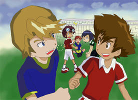 Digimon: Soccer Run by Shigerugal