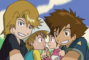 Digimon: Siblings by Shigerugal