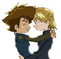 Digimon: Yamachi - Shining Hug by Shigerugal