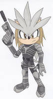 Metal Gear Silver by LuckyBombCC