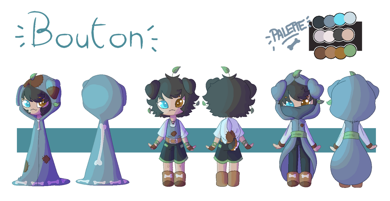 Bouton [Reference Sheet] by Shamanique