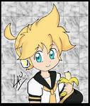 chibi Len by kuki4982