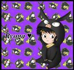 Chibi Ryoga fanart by kuki4982