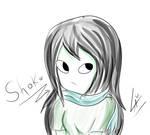 Shoko sketch by kuki4982