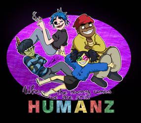 Gorillaz Humanz by kuki4982
