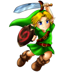 Young Link Super Smash Bros Ultimate by kuki4982