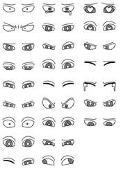 Anime Eyes by Spartan30000