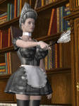 Sexy maid-slave by Doctor-Robo