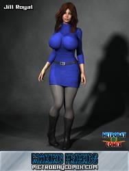 Jill Royal promo by Doctor-Robo