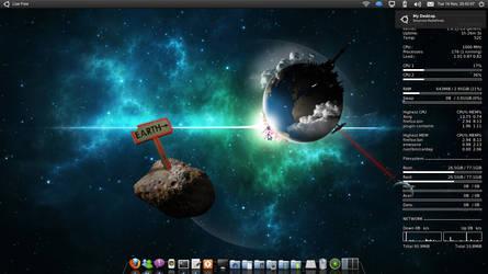 My Desktop 20-11-10 by DavidRaid