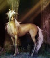 Golden Unicorn by LorraineP