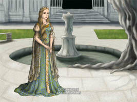 Theodwyn of Rohan by AkhillesY
