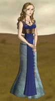 Mirza,fictional sister of Spartacus by AkhillesY